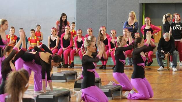 Sportovní halu ASK Blansko ovládla soutěž v pohybových skladbách. Ta se v Blansku konala již po šestadvacáté.
