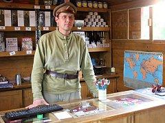 V Boskovicích stojí Legiovlak, putovní výstava o českých a slovenských legionářích, kteří v první světové válce bojovali v Rusku.