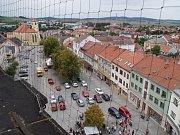 Boskovice pohledem z radniční věže.