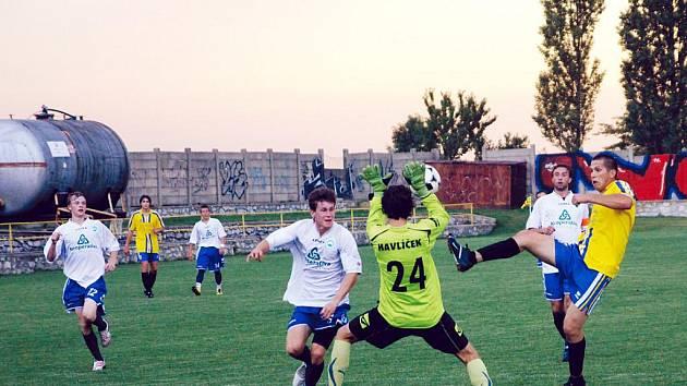 Fotbalisté Boskovic v utkání s Lipovcem - ilustrační foto.