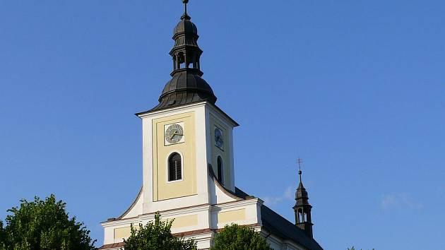 Velkoopatovický kostel.