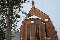 Heiserův kostel svaté Barbory v Adamově