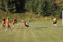 Blanenští fotbalisté si v derby s Boskovicemi nechali po raketovém nástupu dát tři góly a po festivalu neproměněných tutovek byli rádi za bod.