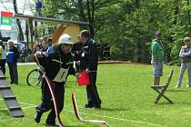 Šebetovští hasiči se účastní i různých soutěží.