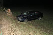 Boural s těhotnou ve vozidle. Nadýchal 1,3 promile alkoholu.