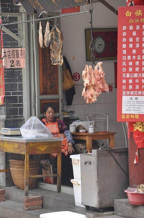 co vše lze v Číně zakoupit přímo na ulici