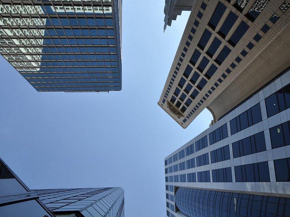 mrakodrapy Hong Kongu