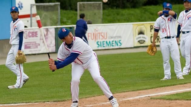 Baseballisté Tchaj–wanu přehráli jednoznačně Litvu v poměru 7:1. Dalšího zápasu mistrovství se diváci v Blansku nedočkají.