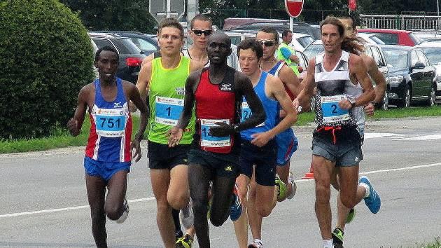 Půlmaraton Moravským krasem. Ilustrační foto.