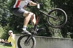 Mistrovství světa biketrial 2016 v Blansku.