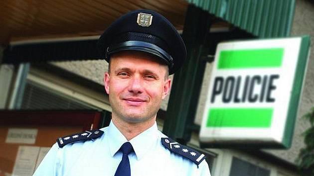 Policejní ředitel Rostislav Neubauer.