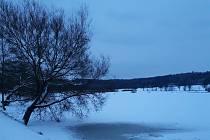 Z večerní procházky zimními Jedovnicemi.  Ilustrační foto: Zlatuše Odehnalová