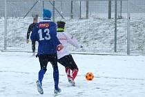 Fotbalisté Blanska porazili v přípravě ve Vyškově Morkovice.