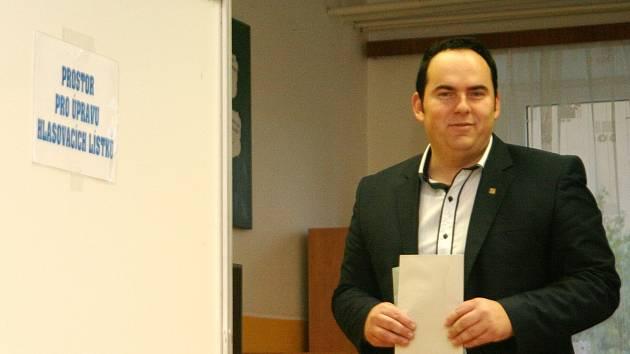 Jihomoravský lídr Svobody a přímé demokracie Jan Hrnčíř.