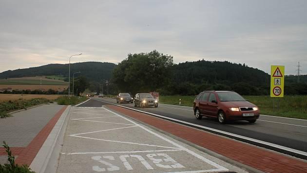 Na silnici I/43 u Bořitova se zlepšila dopravní situace. Ředitelství silnic a dálnic původní autobusové zastávky v kopci zrušilo a nechalo postavit nové směrem blíže k Černé Hoře. Směrem do obce vznikl nový odbočovací pruh.