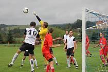 Fotbalisté Kunštátu porazili Líšeň B 2:1 a dál vedou skupinu A I. A třídy.