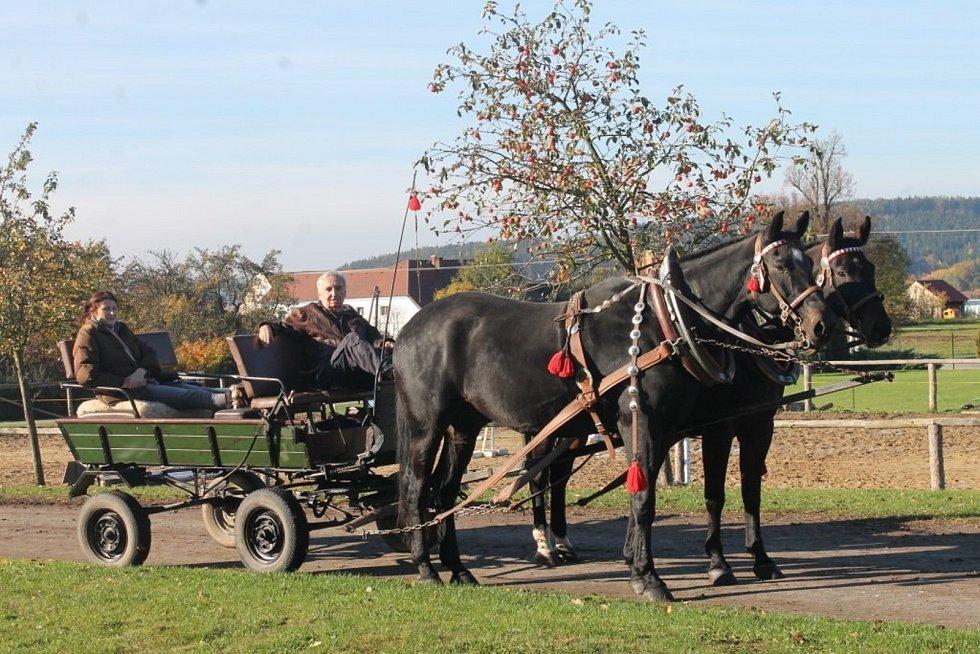 Agrocentrum Ohrada Vísky pořádalo Hubertovu jízdu už podeváté.