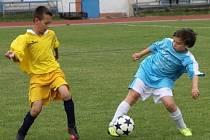 Polský tým Miedz Legnica vyhrál mezinárodní turnaj mladších žáků v kopané. Memoriál Miroslava Krabičky v Blansku.