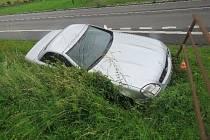Nehoda na silnici I/43.