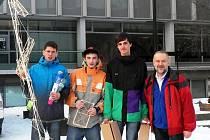 Masarykovu střední školu Letovice minulý týden v soutěži Hala roku junior 2013 v Praze reprezentovali tři studenti čtvrtého ročníku. Z jednačtyřiceti soutěžních týmů se umístili na šestém místě.