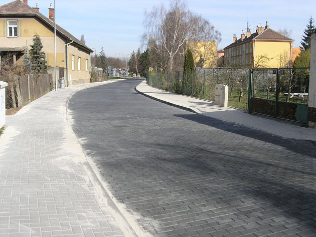 Vodní ulice v Blansku