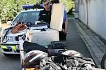 Chvilky napětí zažili návštěvníci Červené zahrady v Boskovicích. Zhlédli při akci policisty, policejní psy, záchranáře či hasiče.