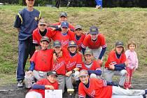 Blanenští přijeli na turnaj spíše sbírat zkušenosti do budoucna. Velmi mladý tým byl složen z žáků šestého ročníku a doplněn dvěma sedmáky. Všichni chlapci hrají baseball v blanenské Olympii a zároveň absolvují program výuky na ZŠ Salmova