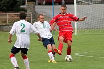 Jasná záležitost. Fotbalisté Boskovic převálcovali v krajském poháru Doubravici 5:1. V první kole hrají v neděli s Ráječkem.