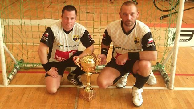Jiří Hrdlička s Pavlem Loskotem.