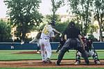 Baseball - nadstavba o extraligu: Olympia Blansko (v bílém) - SaBaT Praha (v černém) 1:2 - 31. července