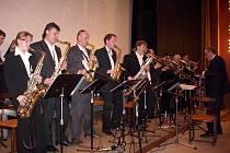 Jedovnický saxofonový Big Band.
