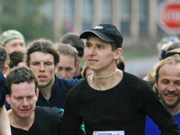 Blanenský běžec Jan Kohut