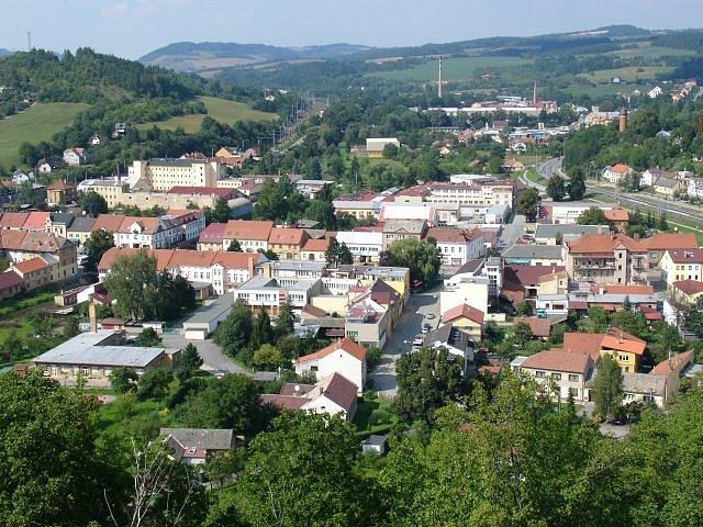 Město Letovice.