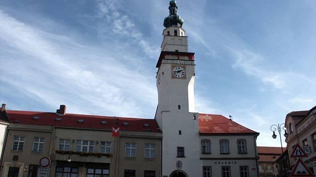 Boskovická radnice na náměstí