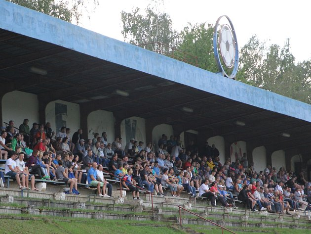 Nejvyšší návštěva byla v Blansku při utkání s Bystřicí nad Pernštejnem (na snímku).