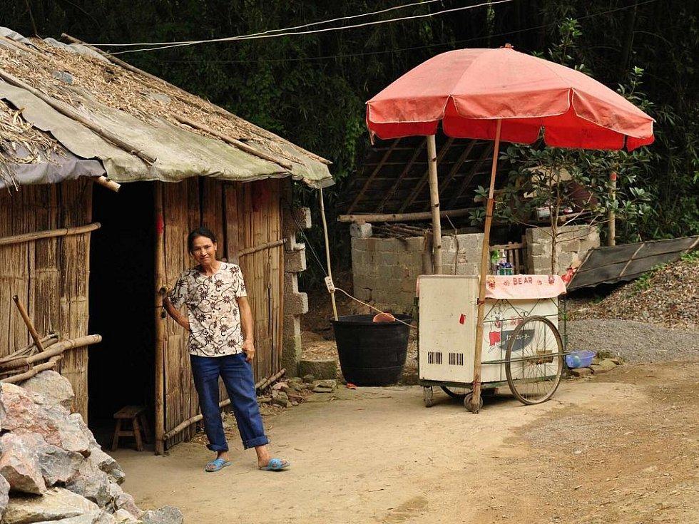 jediný obchod ve vesnici