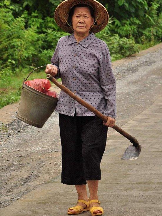 žena etnika Mien