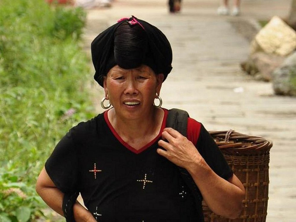 ženy etnika Mien