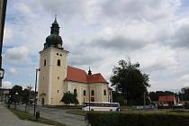 Kostel svatého Stanislava v Kunštátu.