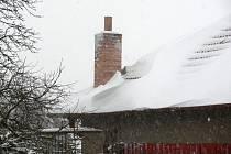 Zima na Blanensku.
