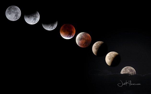 Fotograf Jan Klimeš zAdamova rád zachycuje noční oblohu.