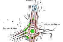 Blanenští chtějí postavit ve městě další kruhový objezd. Má stát nedaleko lázní a zlepšit dopravní situaci na tahu Poříčí.