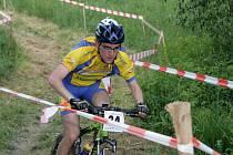Cyklista Jan Jobánek.