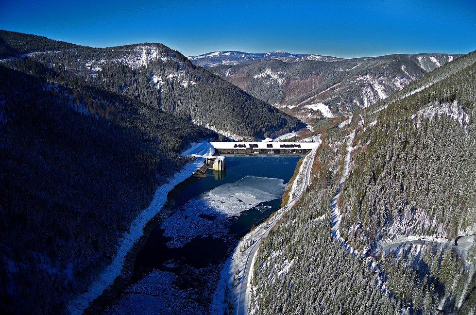 Přečerpávací vodní elektrárna Dlouhé stráně.