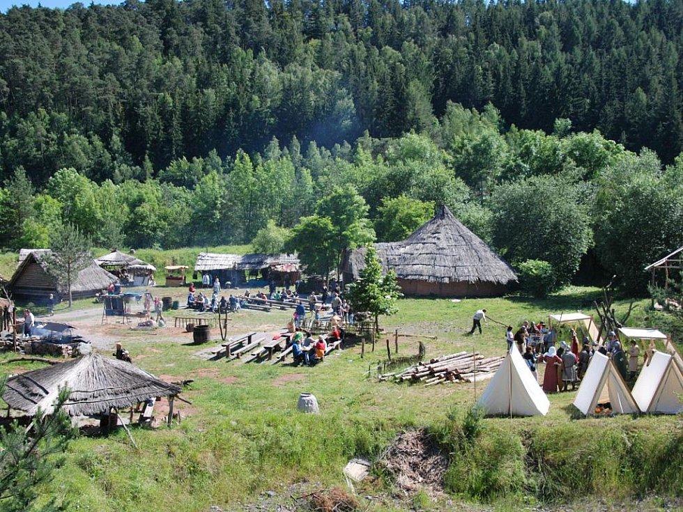 Keltská usedlost Isarno. Ilustrační foto