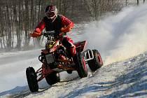 Závod v motoskijöringu na Valchově.