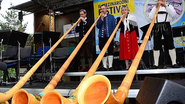 Letovice na celý víkend ovládl Mezinárodní festival dechových orchestrů