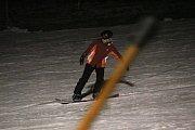 Na sjezdovce v Olešnici zahájili lyžařskou sezonu.