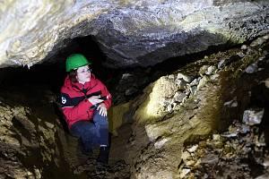 V jeskyni Výpustek se pro návštěvníky připravuje nová prohlídková trasa.