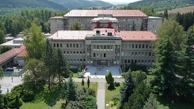 Nemocnice v Boskovicích.